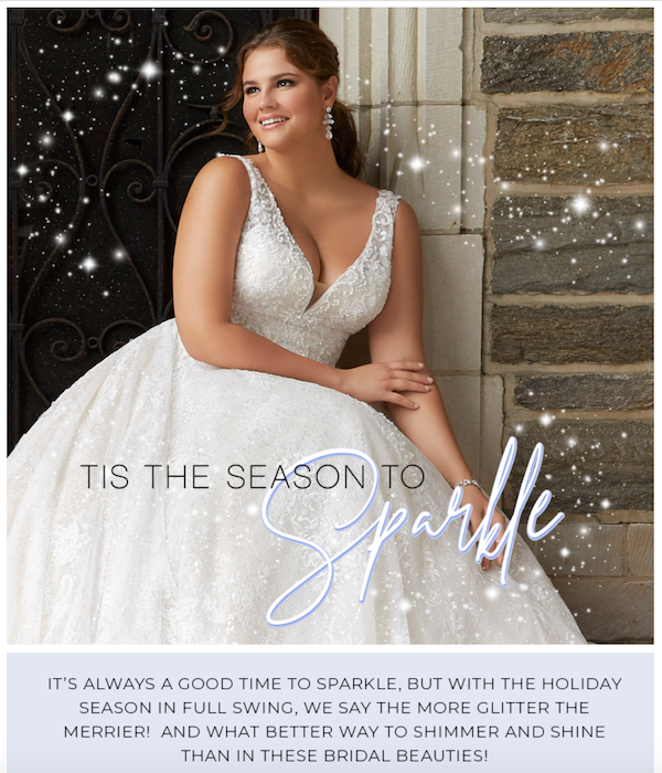 Heavens to Betsy Bridal, Season to Sparkle