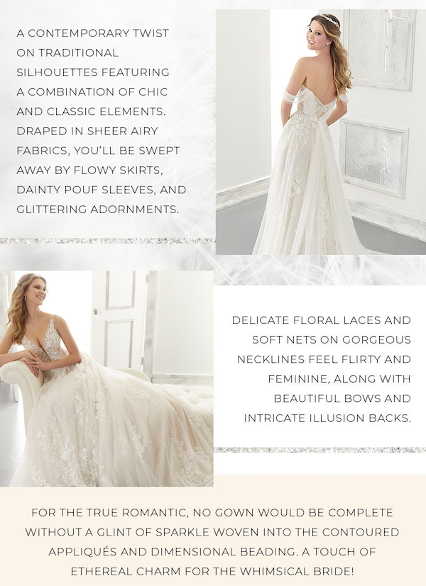 Morilee Designer Wedding Dresses and Bridal Gowns